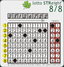 Lotto STReight™ 8/8 - Example 1